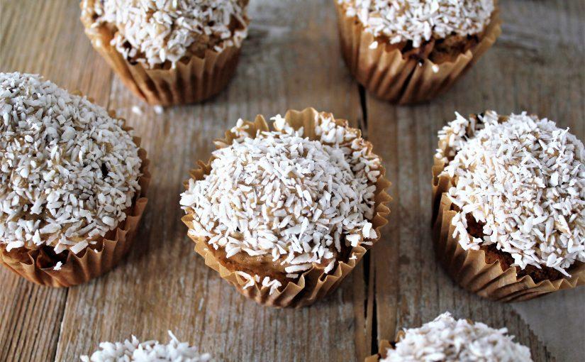 Karamel Kokos Vegan Muffins