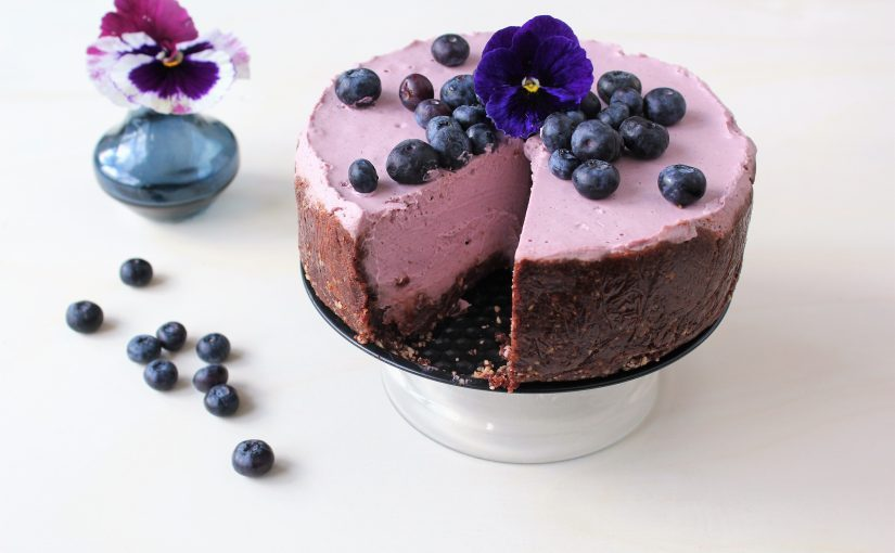 Frisse Vegan Frambozen 'Cheesecake'